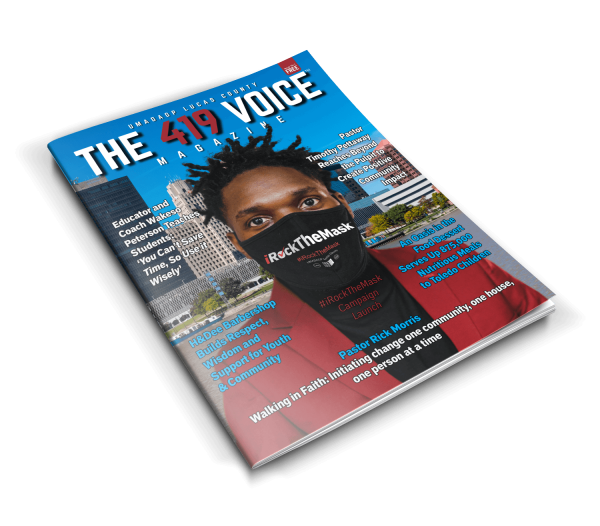 The 419 Voice Magazine Cover Issue No 1
