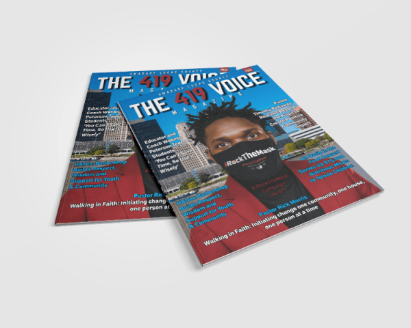 The 419 Voice Magazine Issue No 1 by UMADAOP Lucas County